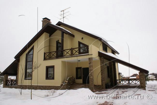 Зима в провансе дизайн фасада